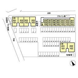 (仮)福居町プロジェクト C[2階]の外観