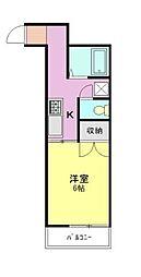 ベルの木ハウス2[2階]の間取り