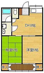 【敷金礼金0円!】土手の内山田アパート