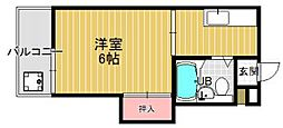 プレアール七隈[3階]の間取り