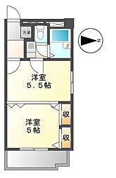 エスト葵南マンション[3階]の間取り