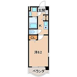 ウィズドム[3階]の間取り