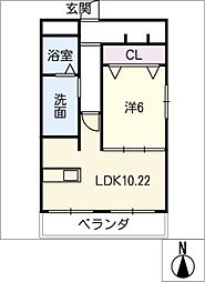 Sala house[3階]の間取り