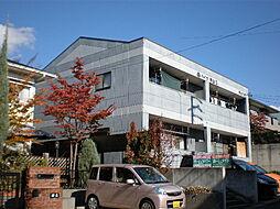 愛知県日進市香久山2丁目の賃貸アパートの外観