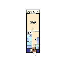 アルファプライズVII[406号室]の間取り