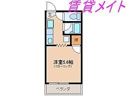 サープラスオクノ[1階]の間取り