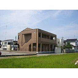 富山県富山市豊田本町2丁目の賃貸アパートの外観