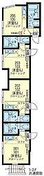 横濱マリーナ・ベイ3[1階]の間取り