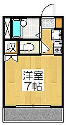 パン・クリニックス紫野館[305号室]の間取り