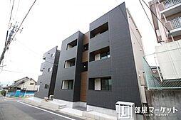 愛知県豊田市月見町3丁目の賃貸アパートの外観