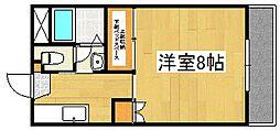 リッチマンション[3階]の間取り