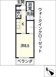 U・TOPIA36[3階]の間取り