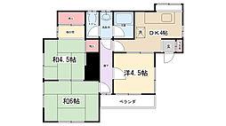 山崎荘[2階]の間取り