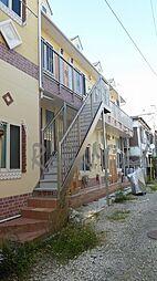 神奈川県横浜市鶴見区下野谷町2丁目の賃貸アパートの外観