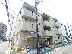 東京都葛飾区東水元2丁目の賃貸アパートの外観