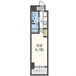 エステムプラザミッドプレイス[5階]の間取り