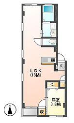 仮)グランレーヴ東別院WEST[1階]の間取り