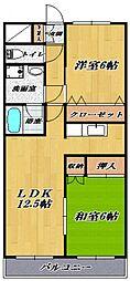 鷺沼ビラスズキ2号館[401号室号室]の間取り
