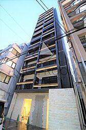 大阪府大阪市中央区北新町の賃貸マンションの外観