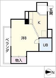 セゾン覚王山[6階]の間取り