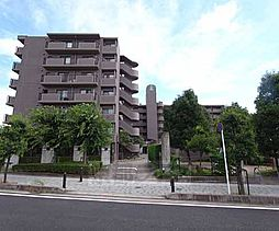 京都府宇治市神明の賃貸マンションの外観