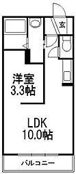 北海道札幌市豊平区平岸三条11丁目の賃貸マンションの間取り
