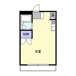 キャッスルプラザ木更津[305号室]の間取り