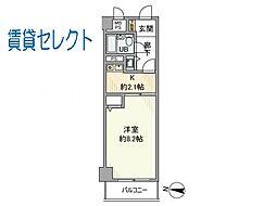 ライオンズマンション松戸柿ノ木台[503号室]の間取り