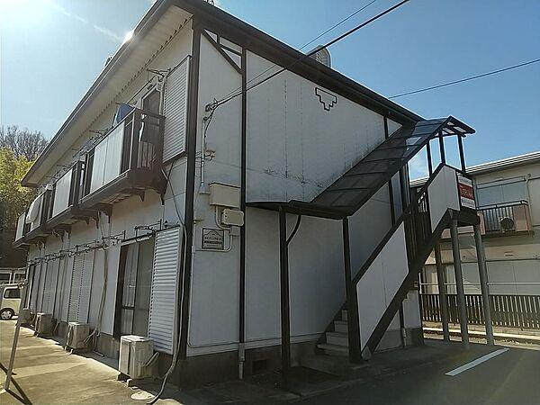 ハイツ エスポアール2[1階]の外観