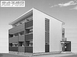 兵庫県姫路市名古山町の賃貸アパートの外観