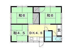 [一戸建] 愛媛県松山市西石井2丁目 の賃貸【愛媛県 / 松山市】の間取り