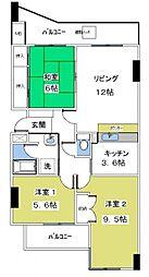 ライムライト松風台3[305号室号室]の間取り