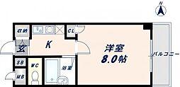 バーズハウス[1階]の間取り