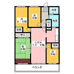 スペリア桑名壱番館1204[12階]の間取り