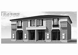 福岡県飯塚市立岩の賃貸アパートの外観