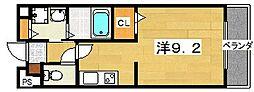 大阪府枚方市茄子作北町の賃貸アパートの間取り