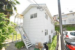 兵庫県宝塚市千種2丁目の賃貸アパートの外観