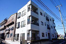 東京都江戸川区西篠崎1丁目の賃貸マンションの外観