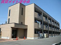 三重県津市八町2の賃貸アパートの外観