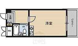 メゾン横堤[4階]の間取り