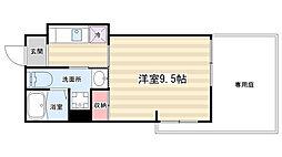マルティ円町[1階]の間取り