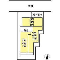 仮)D−room岐阜市高森町[2階]の外観
