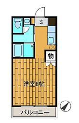 スクエアーメゾン[2階]の間取り