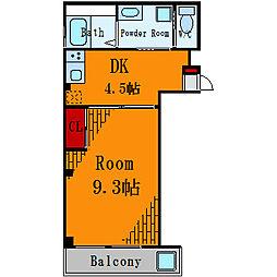 ガイア向島[2階]の間取り