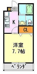 アクエ5[103号室]の間取り