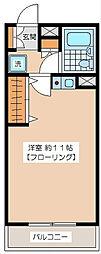 豪徳寺アムフラット[305号室]の間取り