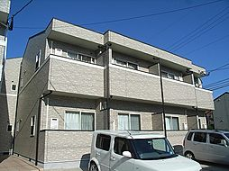 福岡県宗像市赤間3丁目の賃貸アパートの外観