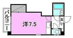 メゾンジュネス(樽味町)[101 号室号室]の間取り