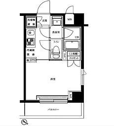 ルーブル新川崎[1階]の間取り