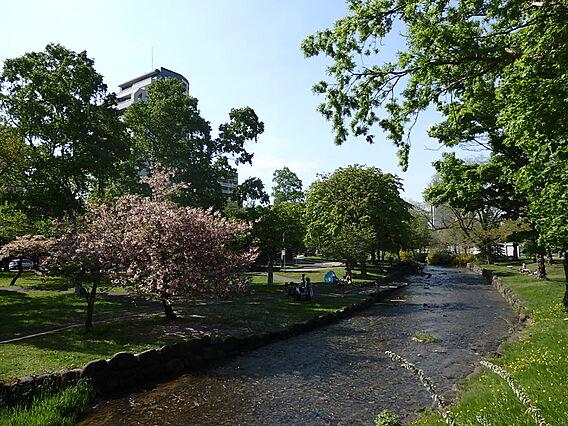 中島公園 徒歩...